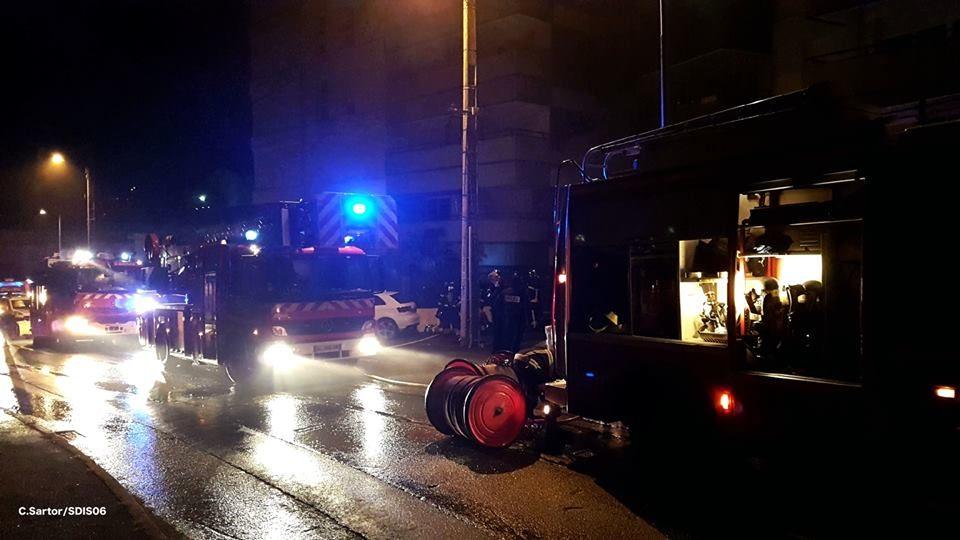 🇫🇷 Saint-Laurent-du-Var (06) : Incendie dans le garage d'un immeuble