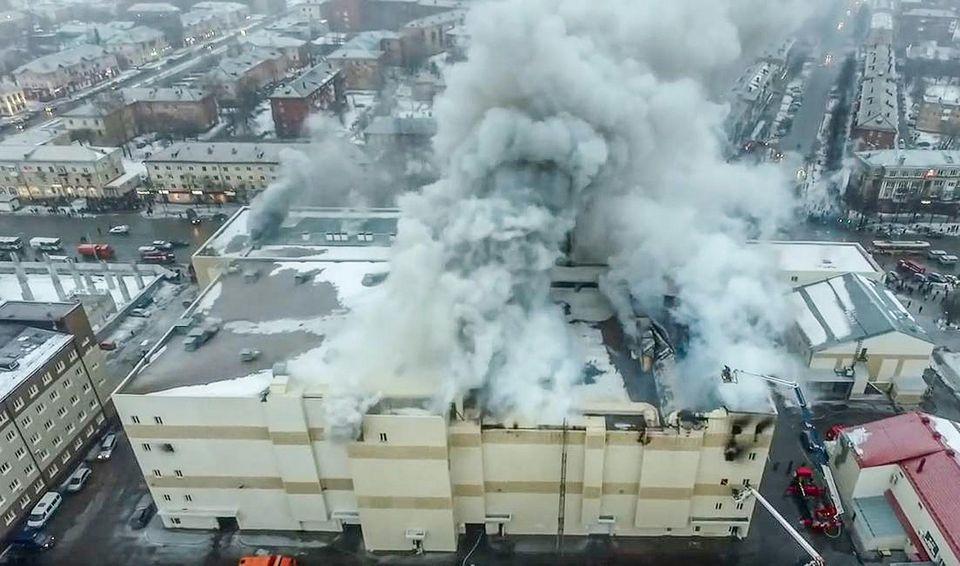 🇷🇺 Kemerovo : L'incendie d'un centre commercial provoque la mort de 64 personnes