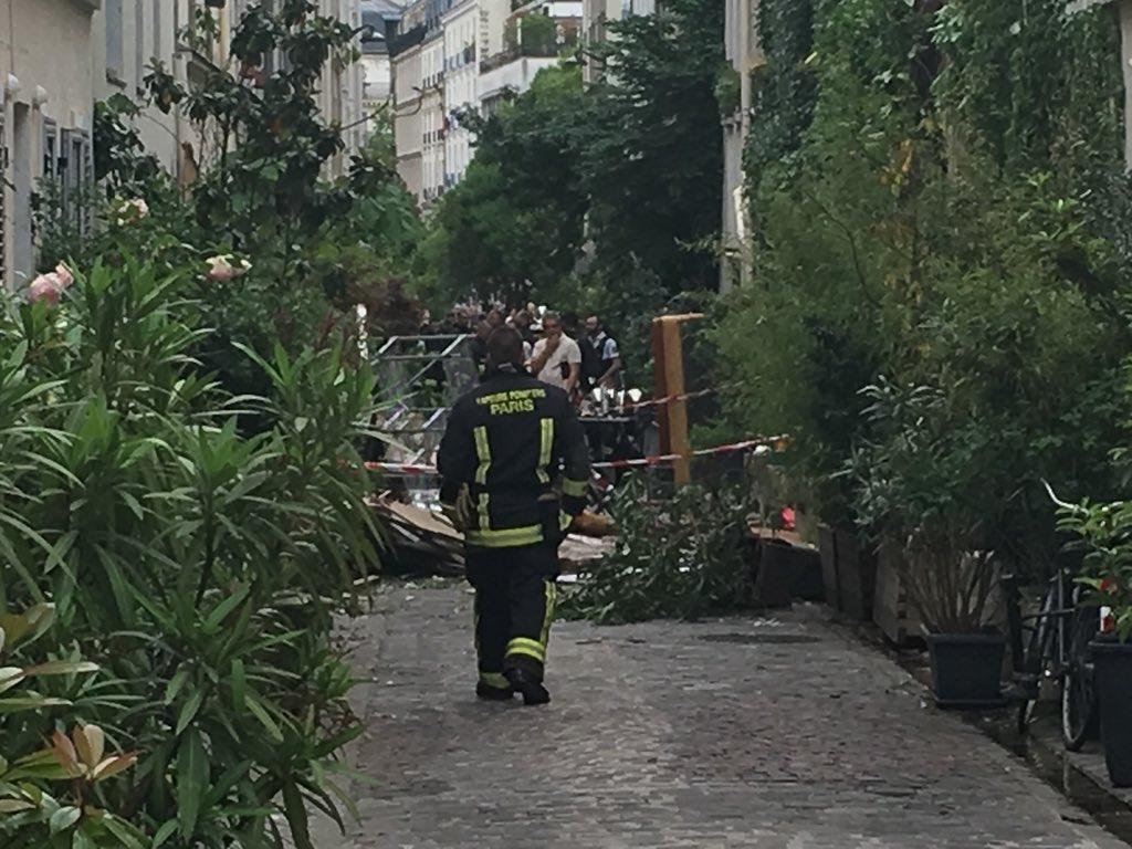 🇫🇷 Paris (75) : Un ouvrier blessé dans l'explosion d'un pavillon
