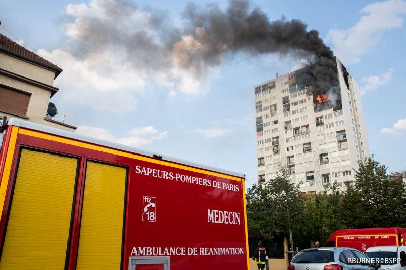 🇫🇷 Aubervilliers (93) : 4 décès dans un incendie au 17ème étage d'une tour