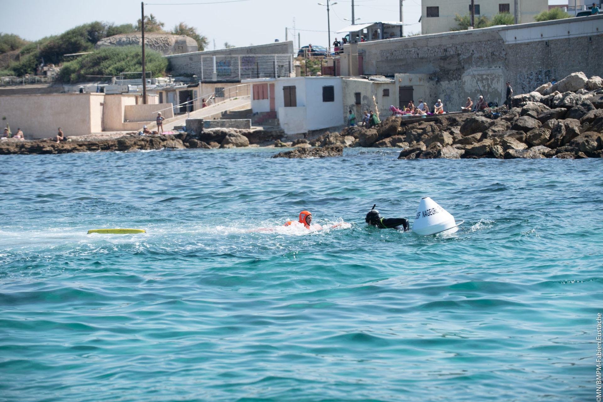 🇫🇷 Marseille (13) : Un nageur en difficulté sauvé grâce à une bouée de repos