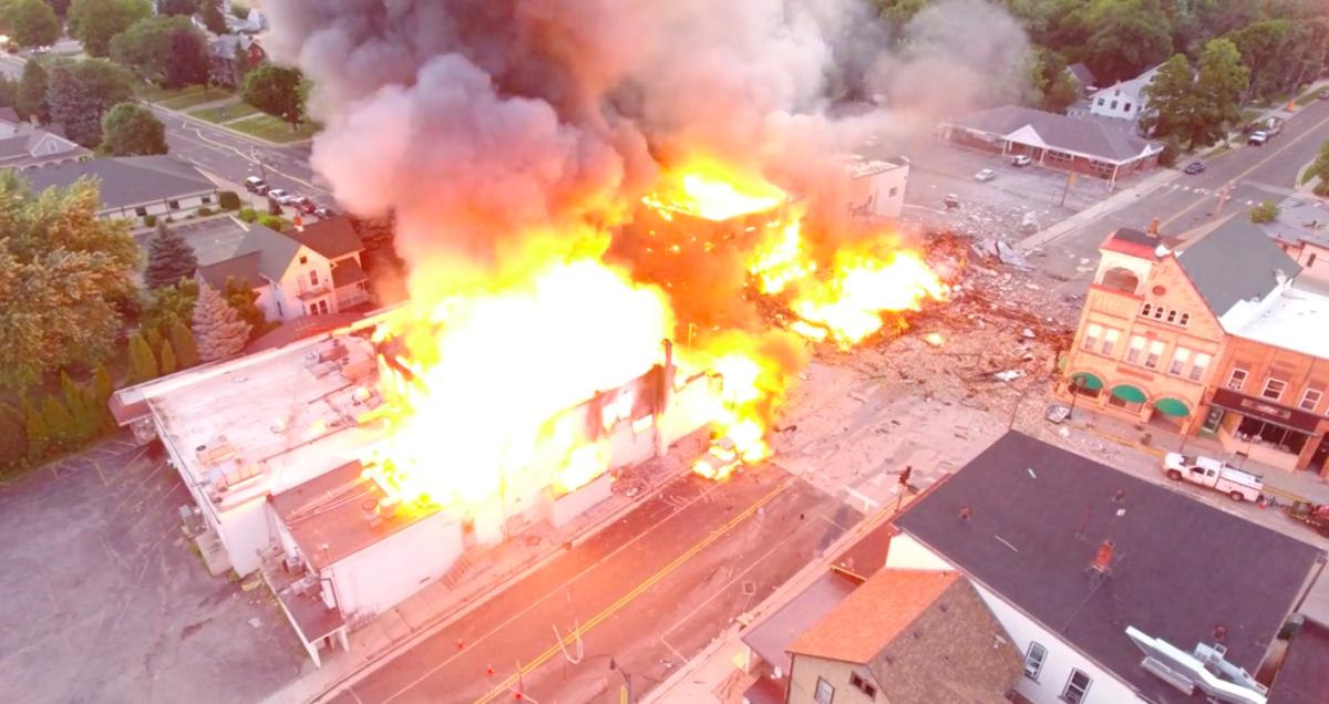 🇺🇸 Sun Prairie : Un pompier perd la vie suite à une explosion de gaz