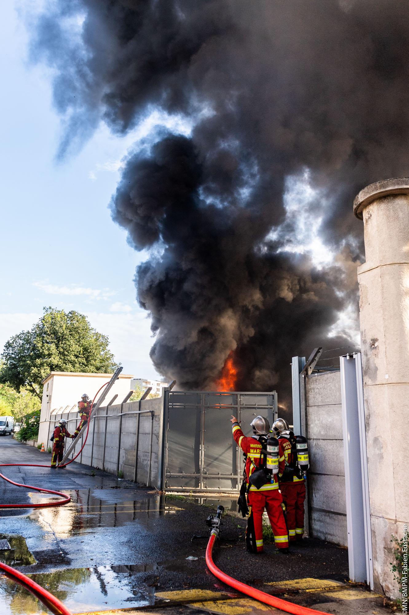 🇫🇷 Marseille (13) : Feu de transformateur électrique ENEDIS