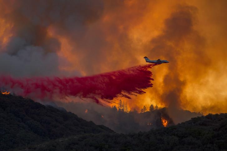 🇺🇸 Californie : 30 000 pompiers mobilisés sur plus de cent incendies