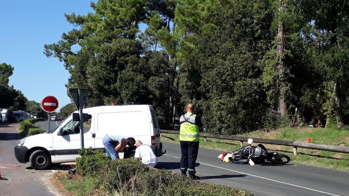 🇫🇷 Saint-Palais-sur-Mer (17) : Un motard perd la vie dans un accident mortel