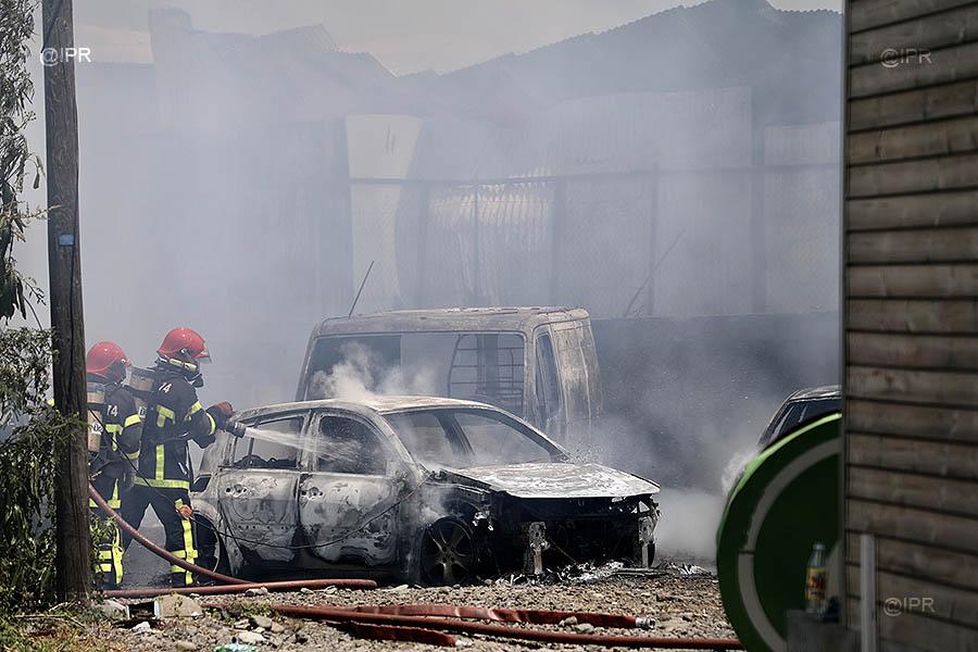 🇷🇪 Cambaie (974) : Un employé décédé et 12 pompiers blessés dans un feu d'entrepôt
