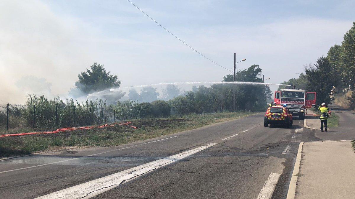 🇫🇷 Port-de-Bouc (13) : 6 départs de feux de végétation