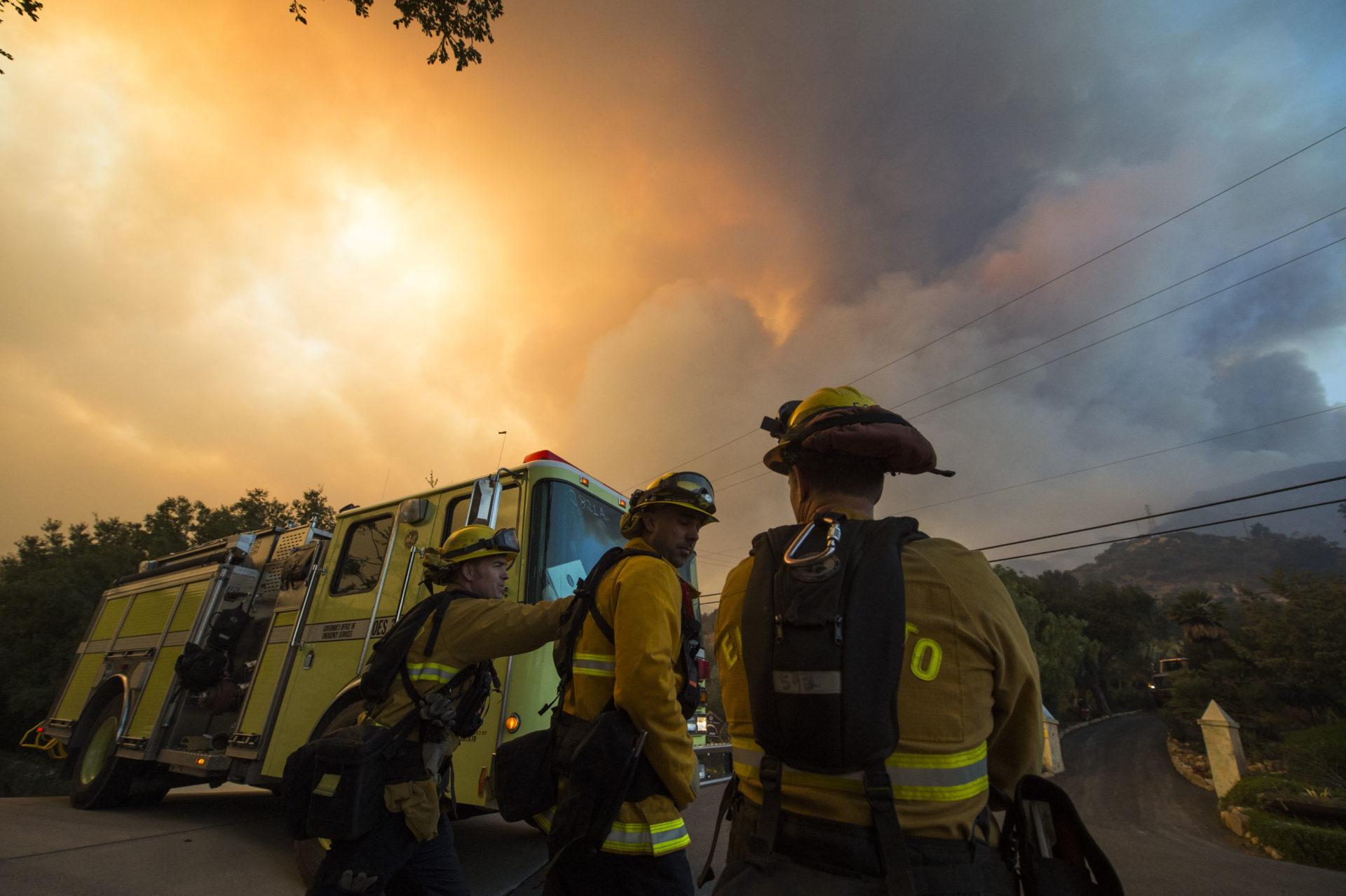 🇺🇲 Californie : Un feu de forêt meurtrier et très violent