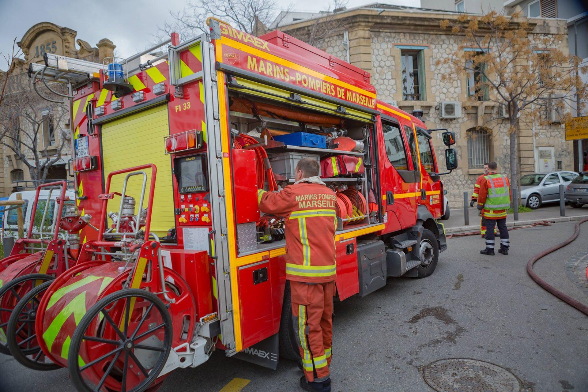 🇫🇷 Marseille (13) : Incendie dans un parking souterrain