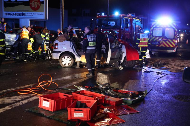 🇫🇷 Houdain (62) : Dramatique face-à-face impliquant 2 voitures