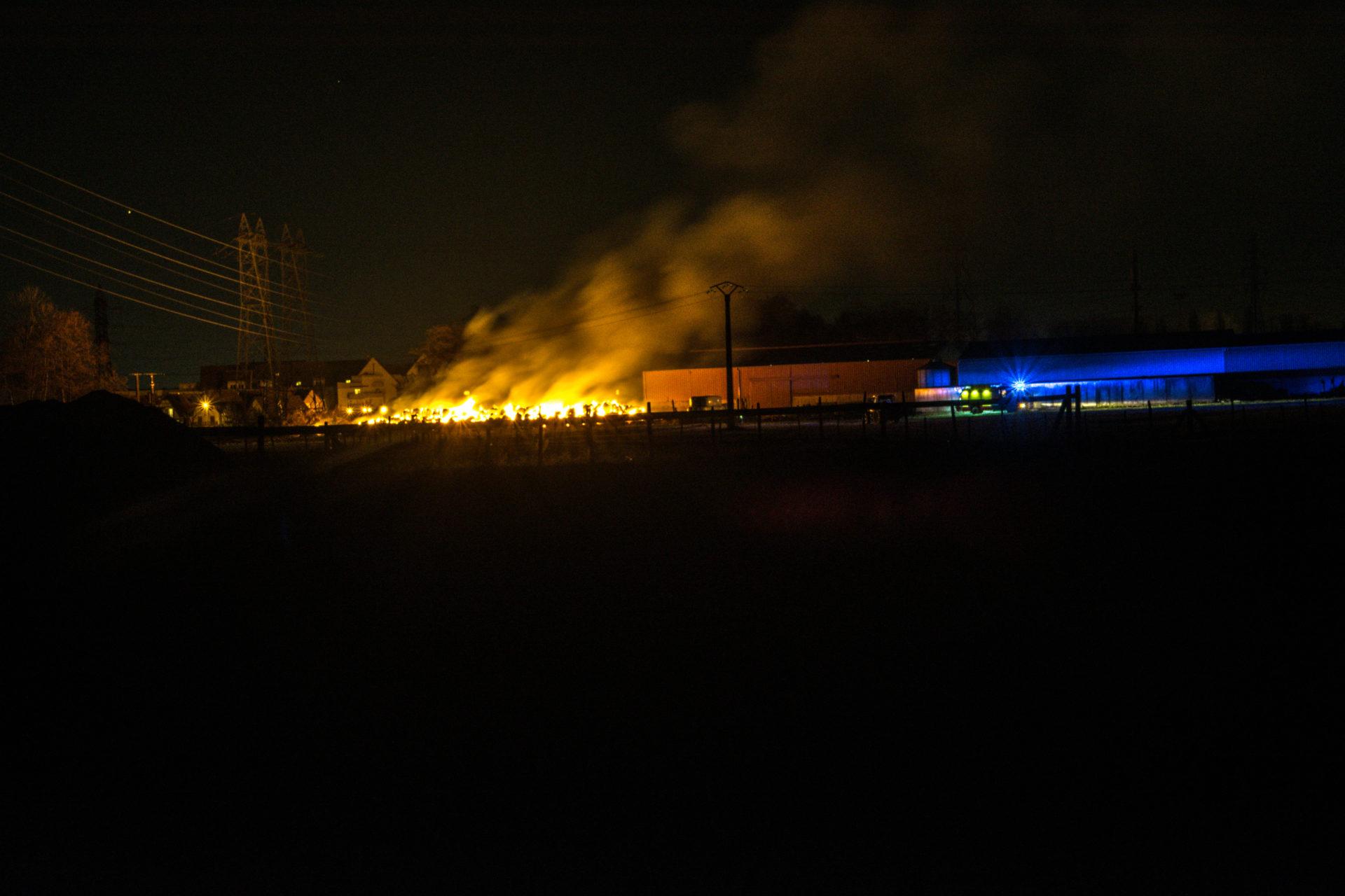 🇫🇷 Dorlisheim (67) : Une exploitation agricole en proie aux flammes