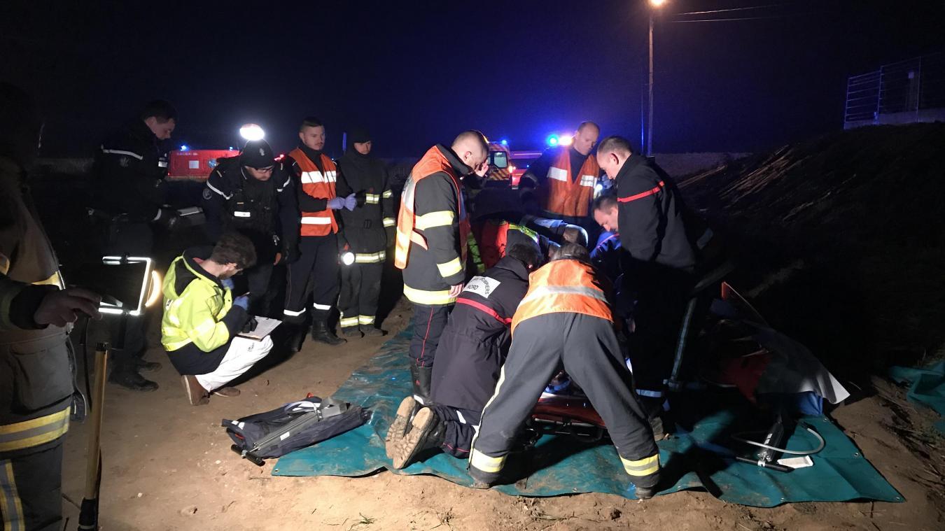 🇫🇷 Le Cateau-Cambrésis (59) : Deux hommes font une chute de 15 mètres, le GRIMP engagé