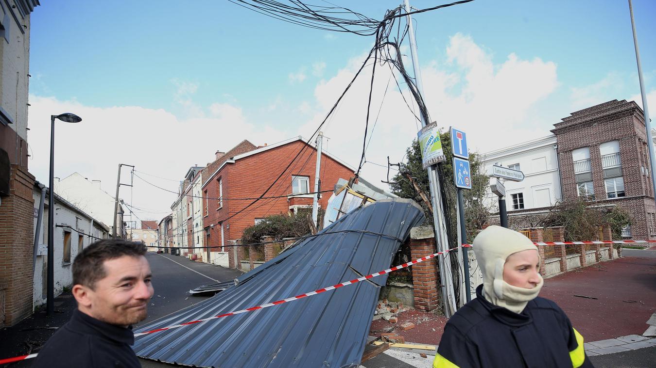 🇫🇷 Nord (59) : Plus de 1 300 interventions diverses à cause de la tempête