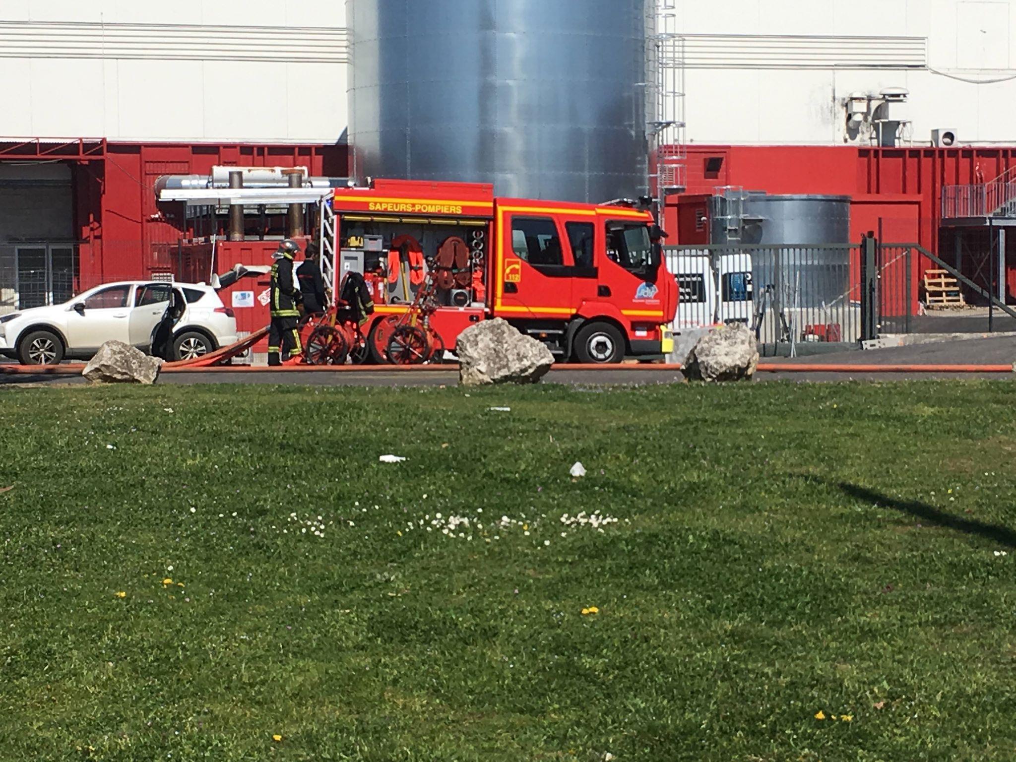 🇫🇷 Toulouse (31) : Un feu s'est déclaré dans un magasin contenant des produits hautement inflammables