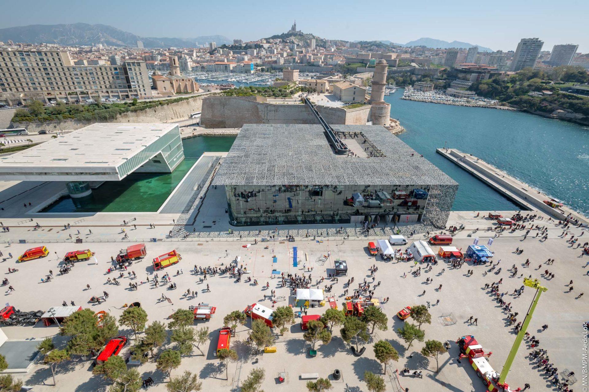 🇫🇷 Marseille (13) : Journée Portes Ouvertes spéciale 80 ans du BMPM