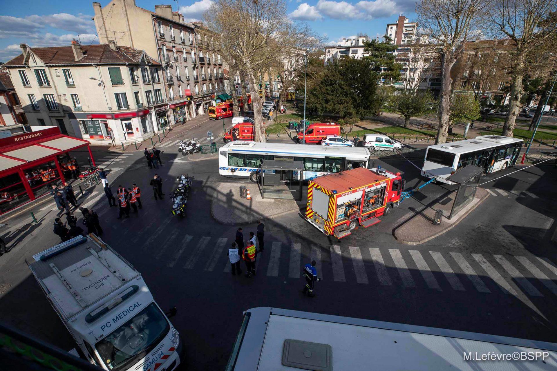 🇫🇷 Sucy-en-Brie (94) : Un bus percute deux piétons