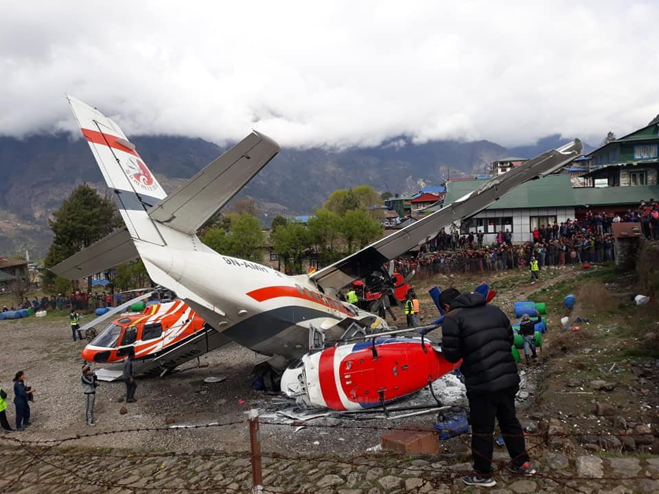 🇳🇵 Lukla : Un avion se crash au décollage et fait 3 morts