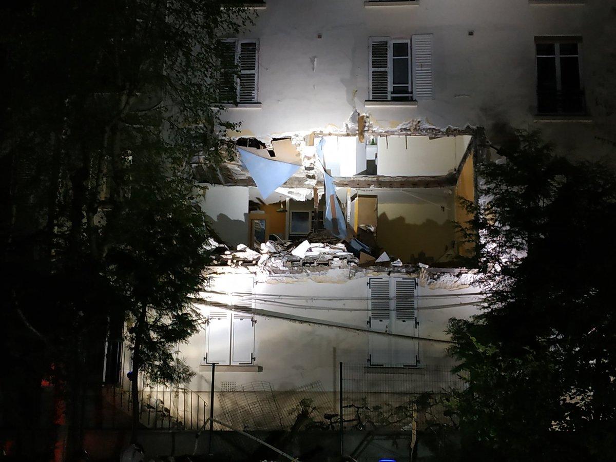 🇫🇷 Paris (75) : Un appartement soufflé par une explosion