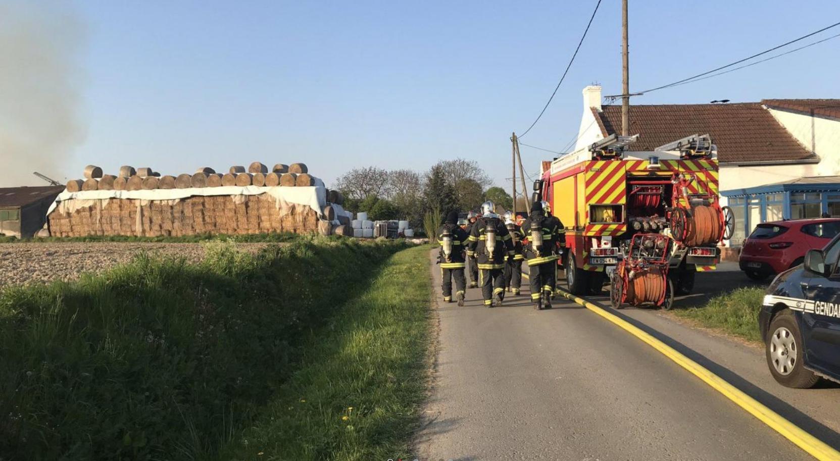 🇫🇷 Rumegies (59): Un feu de ferme tue 6 bovins et blesse 2 personnes