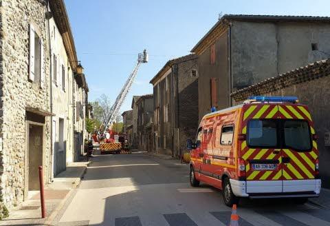 🇫🇷 Baix (07) : Une maison part en fumée sans faire de blessé