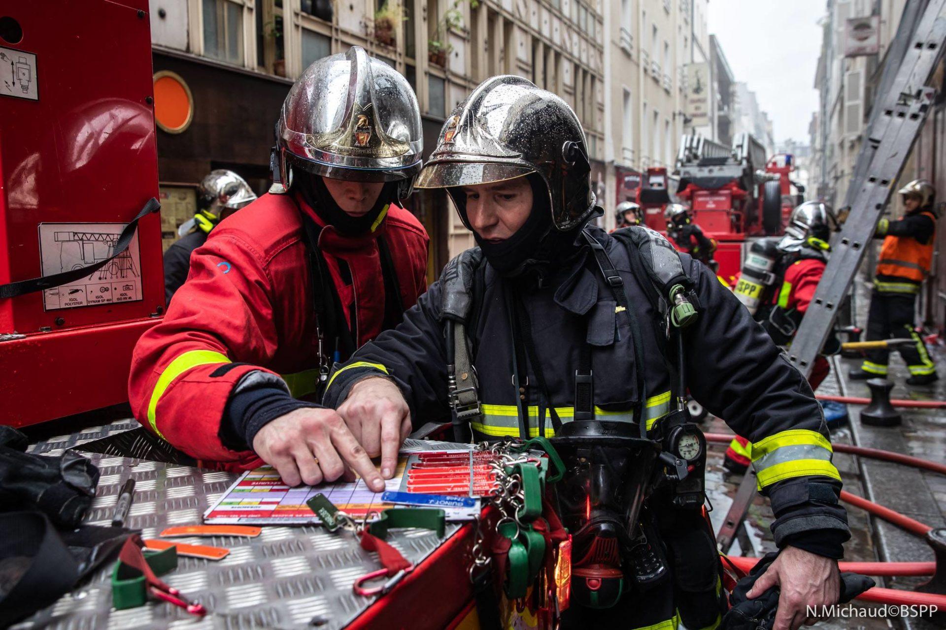 🇫🇷 Paris (75) : Un restaurant s'embrase, deux étages ravagés