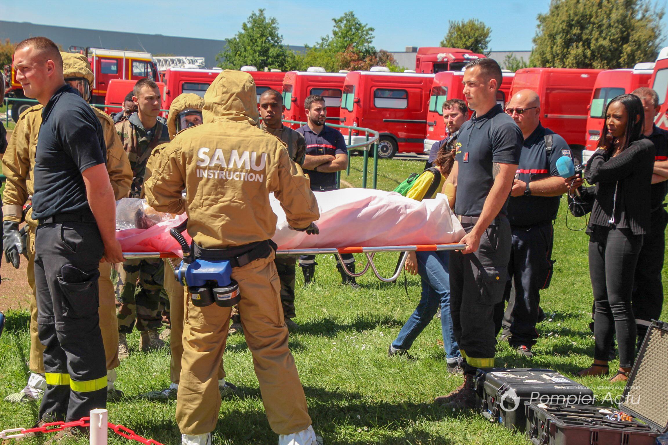 🇫🇷 Haute-Garonne (31) : Entraînement zonal sur les risques NRBCe