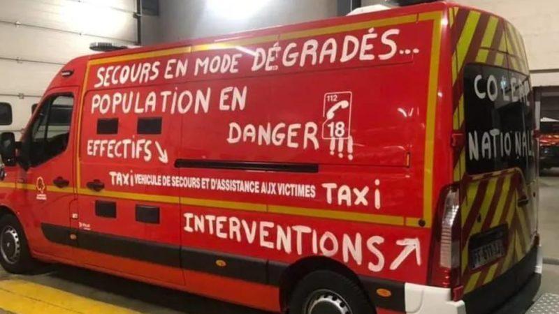 🇫🇷 France : Les pompiers professionnels en grève tout l'été