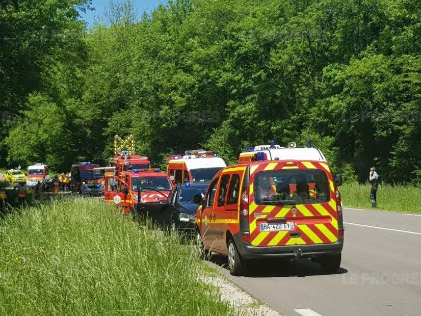 🇫🇷 Périgny (39) : Un accident fait 6 blessés dont 4 graves