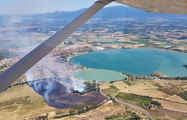 🇫🇷 Villeneuve-de-la-Raho (66) : Des étudiants provoquent un feu de forêt en brûlant leurs cahiers scolaires