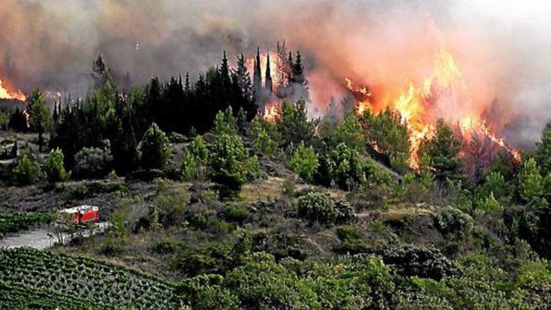 🇫🇷 Montirat (11) : 900 hectares de végétation en feu
