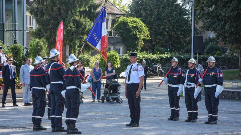 🇫🇷 Thonon-les-Bains (74) : 73e congrès départemental des sapeurs-pompiers de la Haute-Savoie