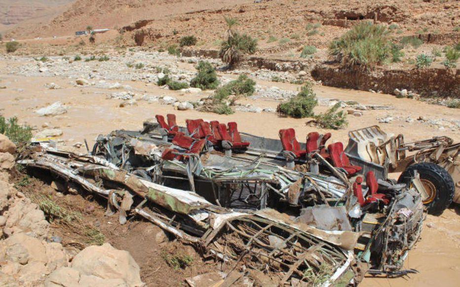 🇲🇦 Maroc : 17 morts dans accident de bus