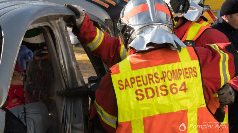 🇫🇷 Pyrénées-Atlantiques (64) : Les pompiers caillassés durant une intervention sur des voitures incendiées