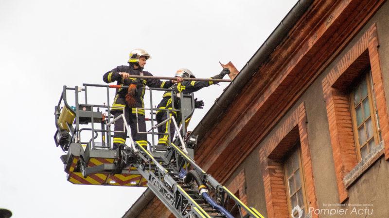 🇫🇷 Toulouse (31) : Effondrement d'un toit d'immeuble en plein centre-ville