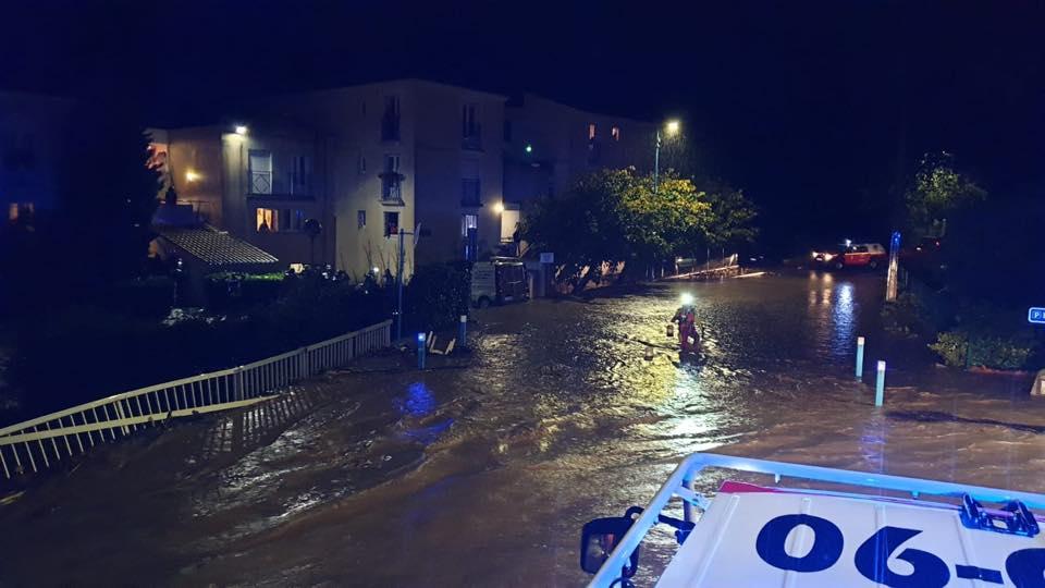🇫🇷 Provence-Alpes-Côte d'Azur : Inondations en cours